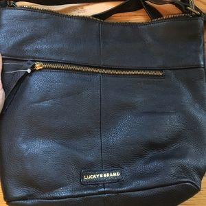 Handbags - Brand new Lucky brand leather tote